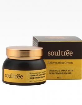 SoulTree Anti-wrinkle Cream with Amala & Turmeric - 60gm